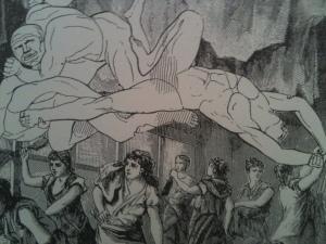 Ilustración de Max Ernst tomada de su libro Escrituras