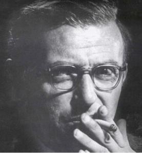 Jean Paul Sartre     Imagen de: www.clipart-finder.com